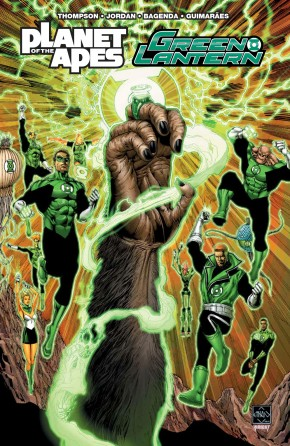 PLANET OF THE APES GREEN LANTERN GRAPHIC NOVEL