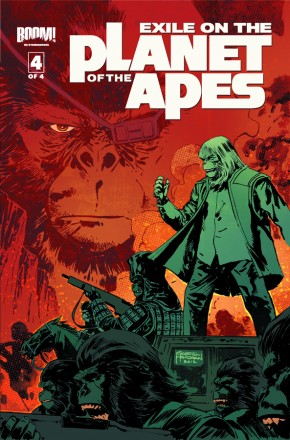 EXILE ON THE PLANET OF THE APES #4 (Random Cover)