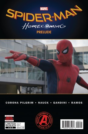 SPIDER-MAN HOMECOMING PRELUDE #2