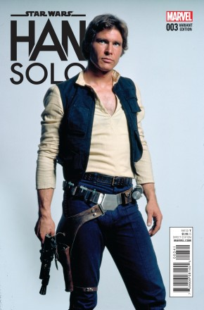 STAR WARS HAN SOLO #3 1 IN 15 MOVIE INCENTIVE VARIANT COVER