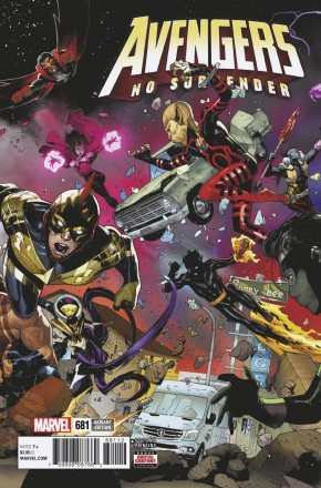 AVENGERS #681 (2016 SERIES) 2ND PRINTING