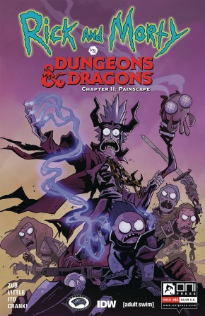 RICK & MORTY VS DUNGEONS & DRAGONS II PAINSCAPE #4