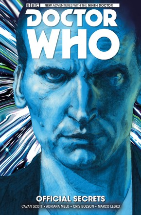 DOCTOR WHO 9TH DOCTOR VOLUME 3 OFFICIAL SECRETS HARDCOVER