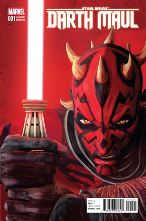 STAR WARS DARTH MAUL #1 ANIMATION 1 IN 10 INCENTIVE VARIANT COVER (2017 SERIES)