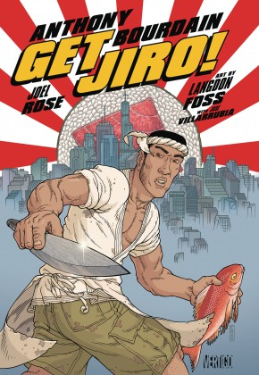 GET JIRO BLOOD AND SUSHI GRAPHIC NOVEL
