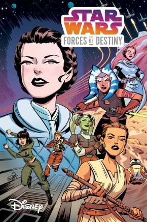 STAR WARS ADVENTURES FORCES OF DESTINY GRAPHIC NOVEL