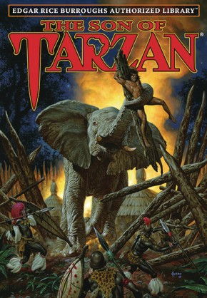 EDGAR RICE BURROUGHS AUTHORIZED LIBRARY EDITION TARZAN VOLUME 4 THE SON OF TARZAN HARDCOVER