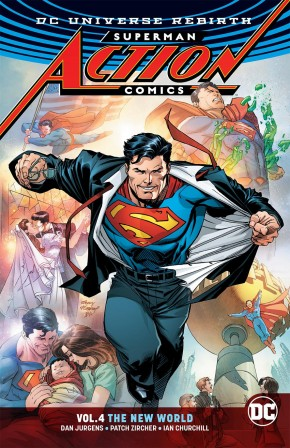SUPERMAN ACTION COMICS VOLUME 4 THE NEW WORLD GRAPHIC NOVEL