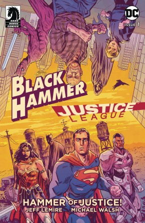 BLACK HAMMER JUSTICE LEAGUE #1 COVER A WALSH