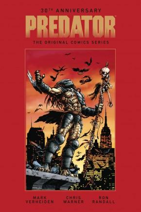 30TH ANNIVERSARY PREDATOR ORIGINAL COMICS SERIES 1989-1996 HARDCOVER