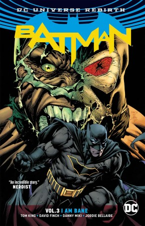BATMAN VOLUME 3 I AM BANE GRAPHIC NOVEL