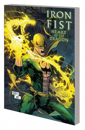IRON FIST HEART OF THE DRAGON GRAPHIC NOVEL