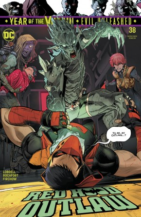 RED HOOD OUTLAW #38 (2016 SERIES)