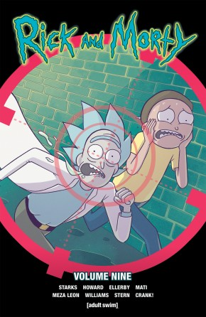 RICK AND MORTY VOLUME 9 GRAPHIC NOVEL
