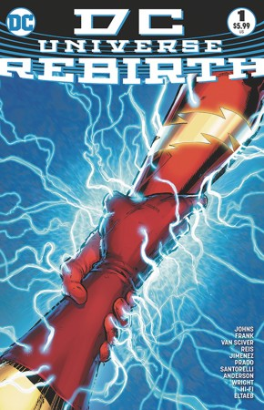DC UNIVERSE REBIRTH #1 5TH PRINTING