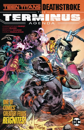 TEEN TITANS DEATHSTROKE THE TERMINUS AGENDA GRAPHIC NOVEL