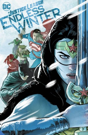 JUSTICE LEAGUE ENDLESS WINTER HARDCOVER
