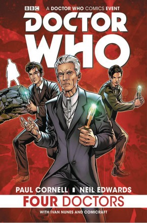 DOCTOR WHO 2015 FOUR DOCTORS GRAPHIC NOVEL