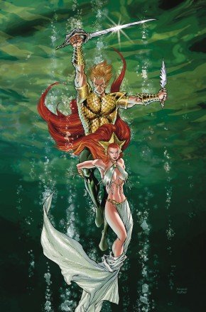 AQUAMAN SWORD OF ATLANTIS BOOK 1 GRAPHIC NOVEL