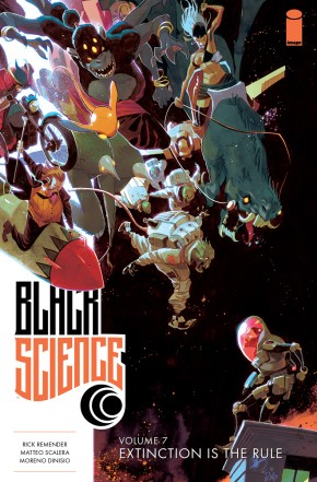 BLACK SCIENCE VOLUME 7 EXTINCTION IS THE RULE GRAPHIC NOVEL