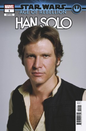 STAR WARS AGE OF REBELLION HAN SOLO #1 MOVIE 1 IN 10 INCENTIVE VARIANT