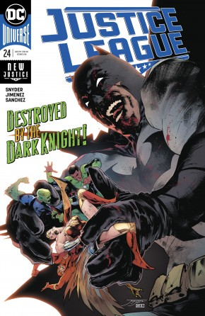 JUSTICE LEAGUE #24 (2018 SERIES)