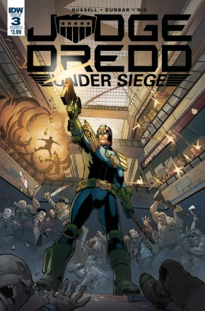 JUDGE DREDD UNDER SIEGE #3