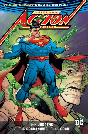 SUPERMAN ACTION COMICS THE OZ EFFECT DELUXE EDITION HARDCOVER