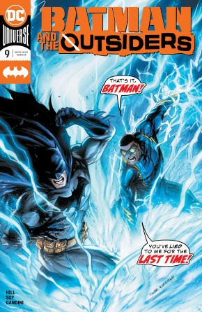 BATMAN AND THE OUTSIDERS #9 (2019 SERIES)