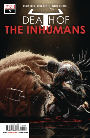 DEATH OF THE INHUMANS #5
