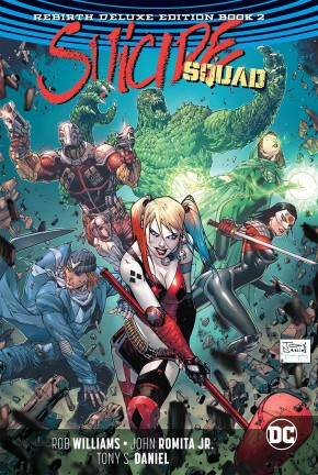SUICIDE SQUAD REBIRTH DELUXE COLLECTION BOOK 2 HARDCOVER