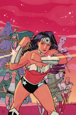 WONDER WOMAN BLOOD AND GUTS GRAPHIC NOVEL