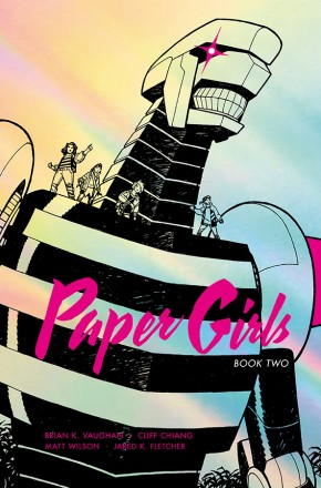 PAPER GIRLS VOLUME 2 DELUXE EDITION HARDCOVER