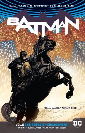 BATMAN VOLUME 5 RULES OF ENGAGEMENT GRAPHIC NOVEL