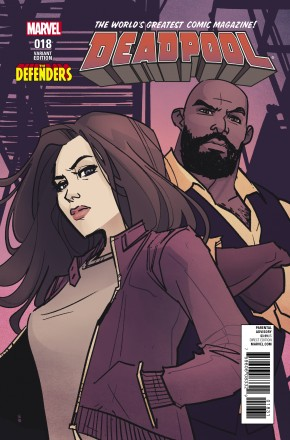DEADPOOL VOLUME 5 #18 DEFENDERS VARIANT COVER