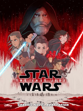 STAR WARS THE LAST JEDI ADAPTATION GRAPHIC NOVEL (IDW EDITION)