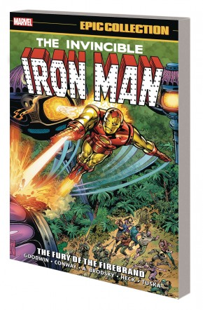 IRON MAN EPIC COLLECTION THE FURY OF FIREBRAND GRAPHIC NOVEL