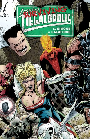 LEAVING MEGALOPOLIS VOLUME 2 SURVIVING MEGALOPOLIS HARDCOVER