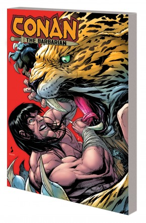 CONAN THE BARBARIAN BY JIM ZUB VOLUME 2 LAND OF THE LOTUS GRAPHIC NOVEL