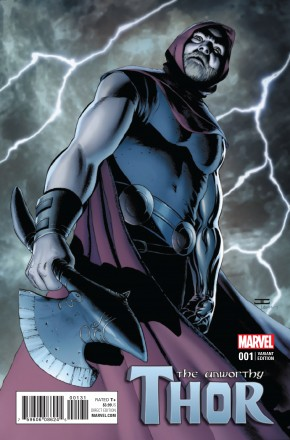 UNWORTHY THOR #1 CASSADAY 1 IN 25 INCENTIVE VARIANT COVER