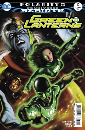 GREEN LANTERNS #19