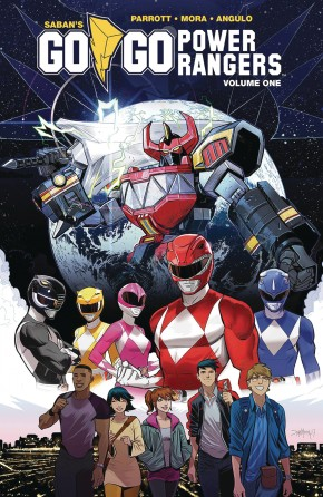 GO GO POWER RANGERS VOLUME 1 GRAPHIC NOVEL