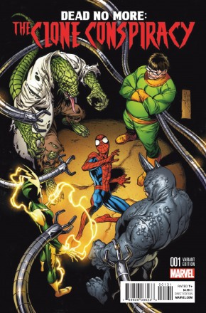 CLONE CONSPIRACY #1 BAGLEY VARIANT COVER