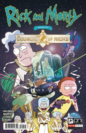 RICK AND MORTY PRESENTS THE COUNCIL OF RICKS #1