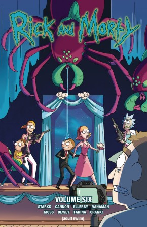 RICK AND MORTY VOLUME 6 GRAPHIC NOVEL
