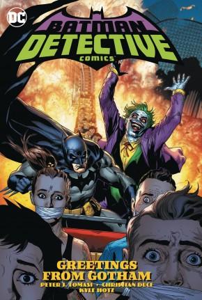 BATMAN DETECTIVE COMICS VOLUME 3 GREETINGS FROM GOTHAM GRAPHIC NOVEL