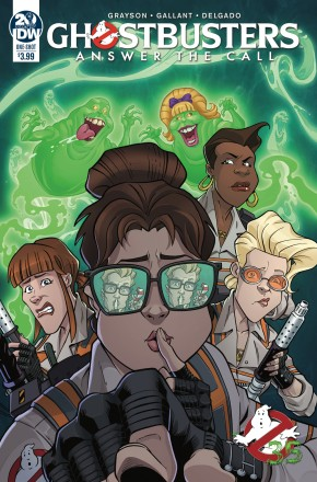 GHOSTBUSTERS 35TH ANNIVERSARY ANSWER CALL GHOSTBUSTERS