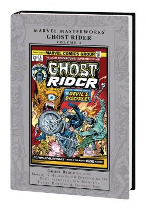 MARVEL MASTERWORKS GHOST RIDER VOLUME 2 HARDCOVER