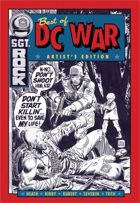 BEST OF DC WAR ARTISTS EDITION HARDCOVER
