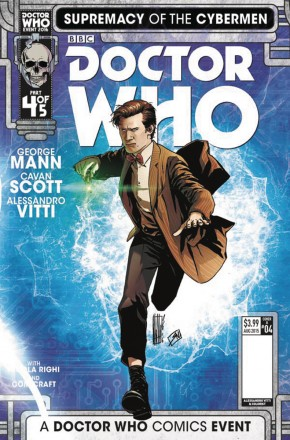 DOCTOR WHO SUPREMACY OF THE CYBERMEN #4